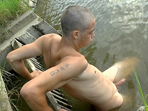 Caravan Boys - Handjob - Nude Swimming
