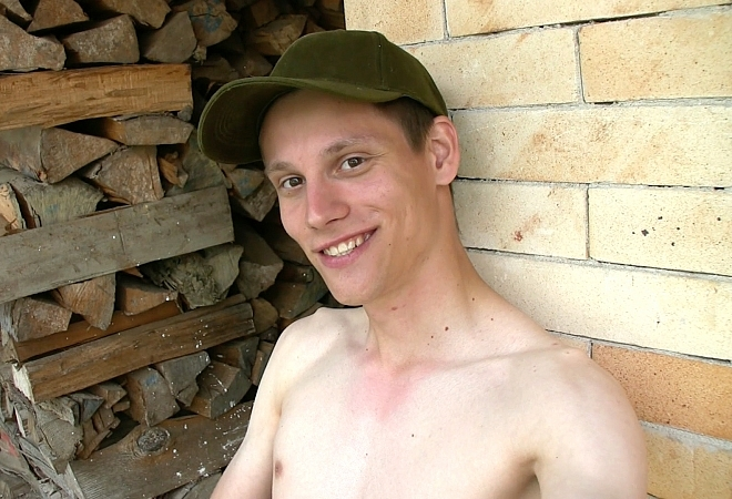 Outdoor Webcam - Horny Village Boy - Part 1