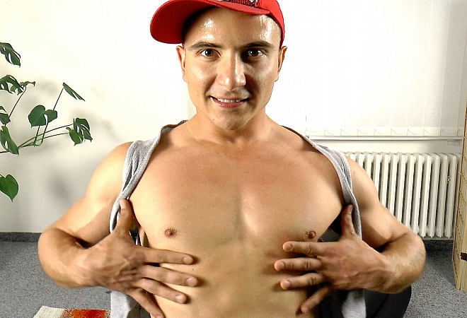 Flexing - Muscle Worship - Massage