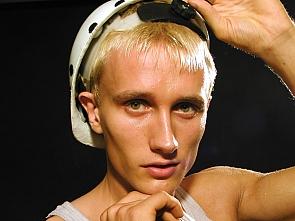 PL Studio - Blond Muscle Guy