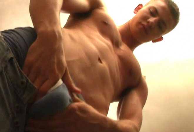 PL Studio - Hot Athletic Guy in Solo Action