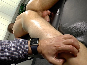 Handjob and Massage with Sanchez Paolo part 1